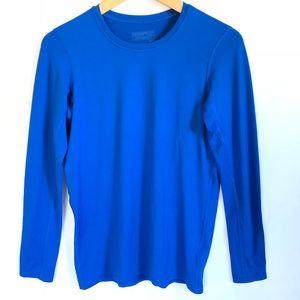 Patagonia Capilene Base Line Blue Shirt Top XS